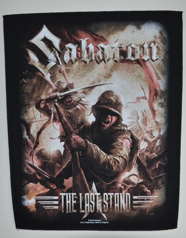 mieux aimé performance fiable site web pour réduction Backpatch / Dossard Sabaton The Last Stand