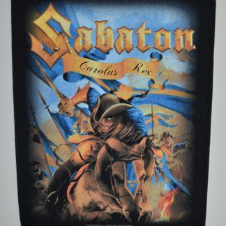 bon marché aspect esthétique prix fou Backpatch / Dossard Sabaton Carolus Rex